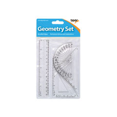 View more details about Small 4 Piece Geometry Set (Pack of 12) 300920