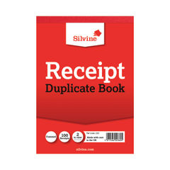 View more details about Silvine Carbon Receipt Duplicate Book, 100 Pages (Pack of 12) - 230