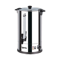 View more details about Igenix 8.8 Litre Stainless Steel Urn - HID52927