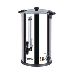 View more details about Igenix 15 Litre Stainless Steel Catering Urn - IG4015