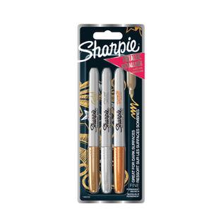 Sharpie Metallic Markers (Pack of 3)