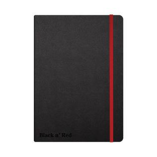 Black n' Red Casebound Notebook - PRICE DROP