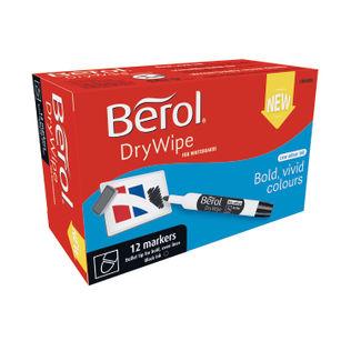 Berol Drywipe Bullet Tip Markers