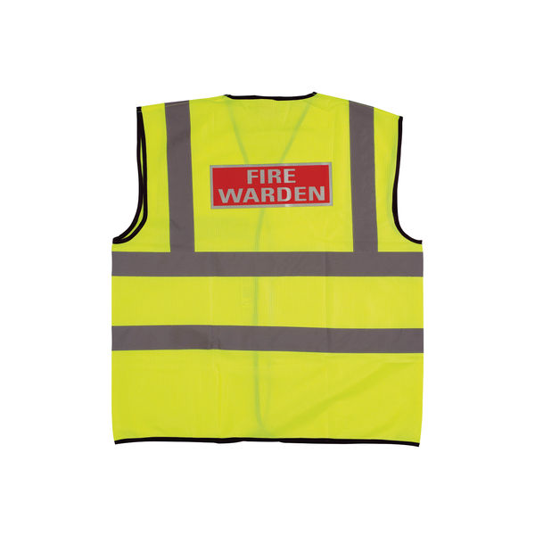 Fire Warden XL Yellow High Visibility - IVGFVW