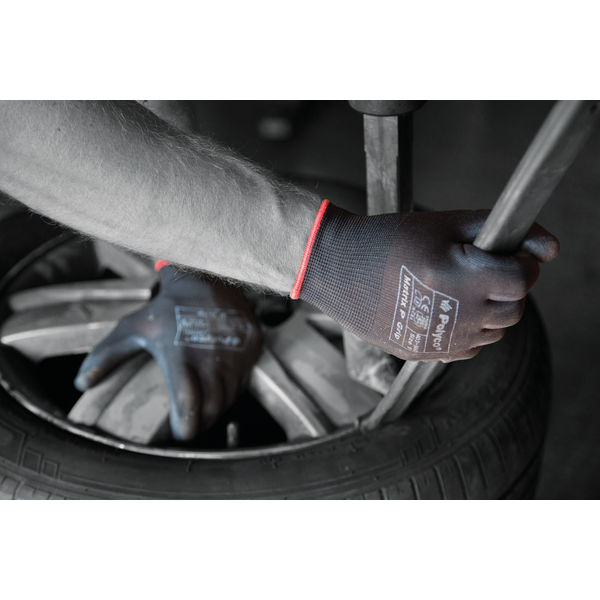 Polyco Size 9 Black Matrix P Grip Gloves - 403-MAT
