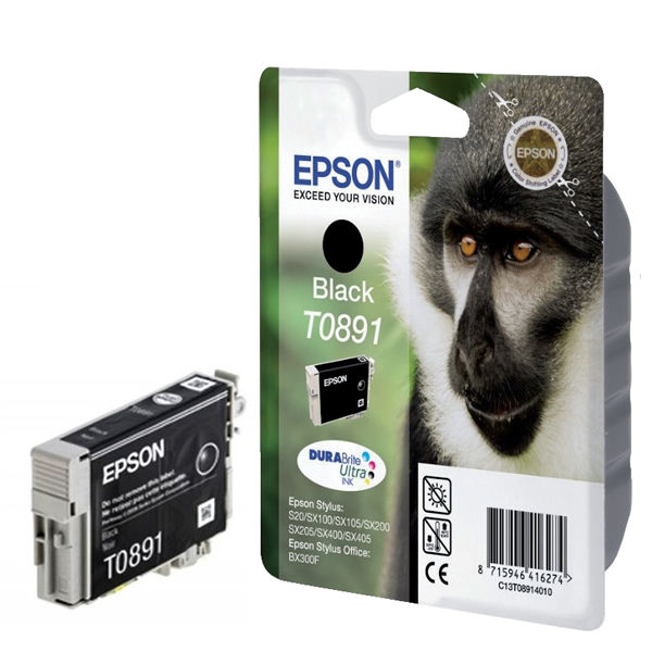 Epson T0891 Black Ink Cartridge - C13T08914011