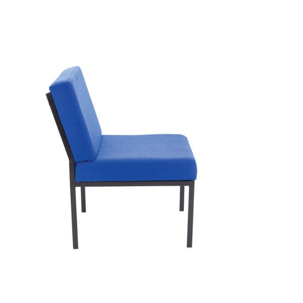 Jemini Blue Reception Chair