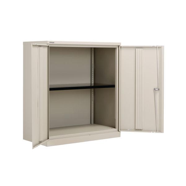 Bisley 1000mm Goose Grey 2 Door Empty Cupboard - BY78709