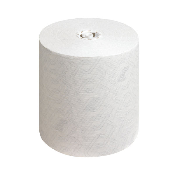Scott Essential Rolled Paper Hand Towels 6m x 350m White (Pack of 8400) 6691