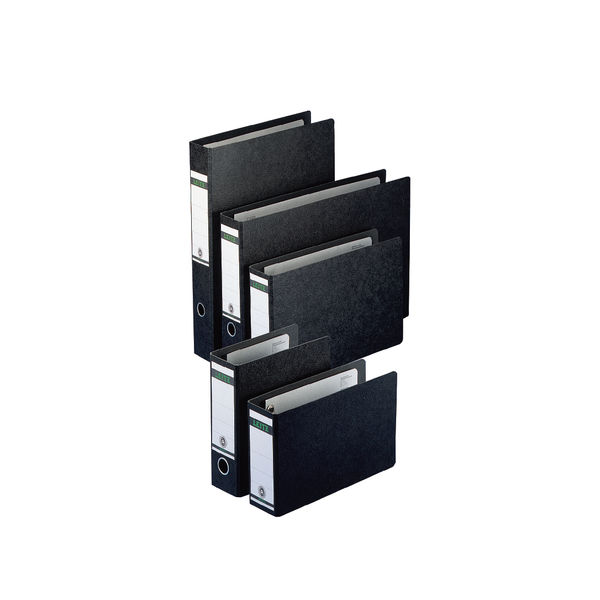 Leitz Specialist Black A5 Upright Lever Arch Files 77mm - Pack of 5 - 31068-95