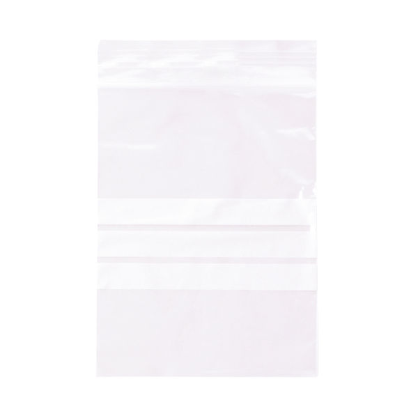 Ambassador Write-on Minigrip Bag 90x115mm | Pack of 1000 | GA-123