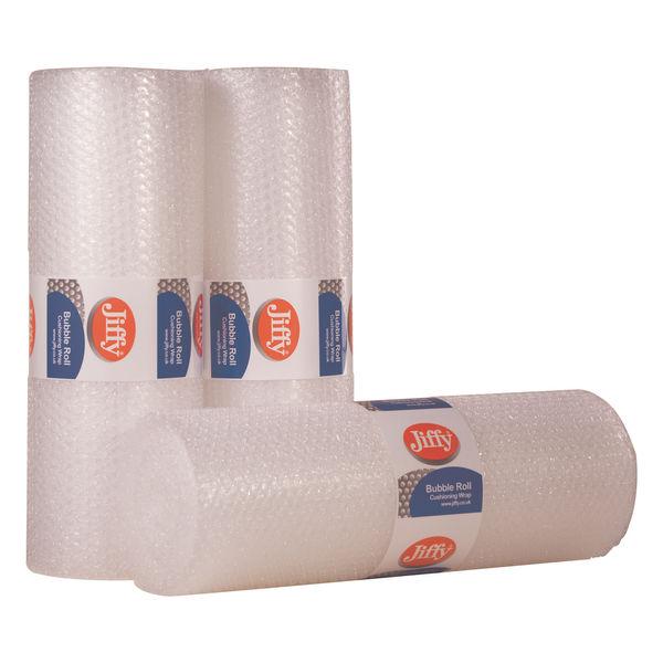 Flexocare Bubble Wrap Roll 500mm x 10m Clear JB-S20L-0500