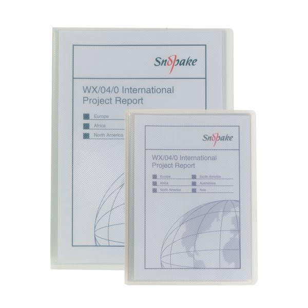 Snopake Superline A5 Clear Presentation Display Book (20 Pocket) - 11941