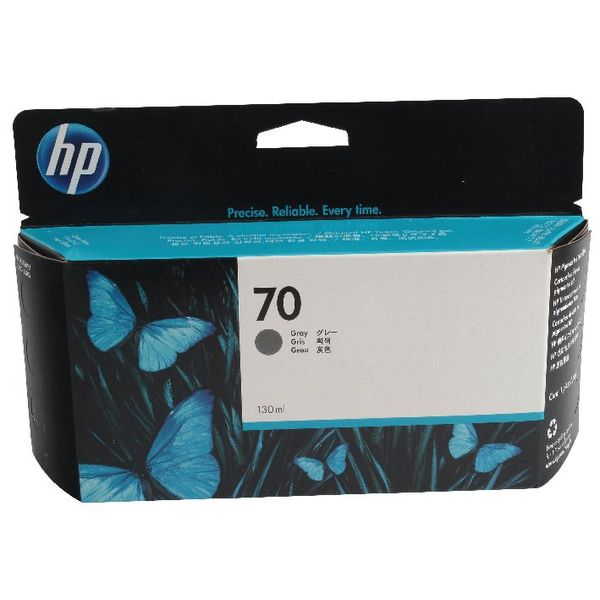 HP 70 Grey Inkjet Cartridge 130ml | C9450A