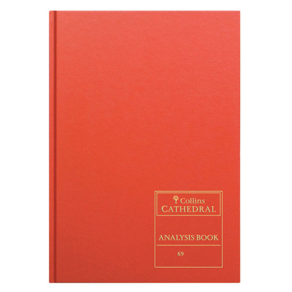 Collins Analysis Book 69/7.1 Red A4 96 Pages OEM: 811107/3