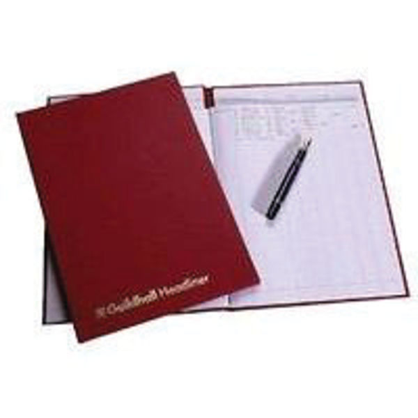 Guildhall Headliner Account Book 10 Cash/Opening 38 Series 80 Pages OEM: 1149