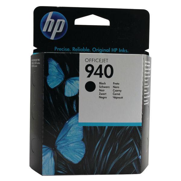 HP 940 Black Ink Cartridge | C4902AE