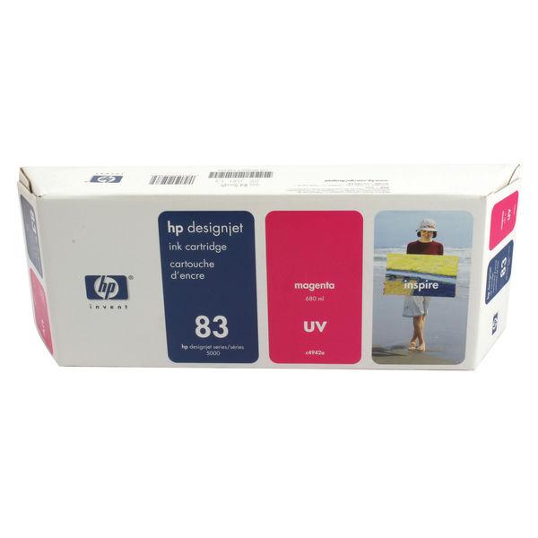 HP 83 UV Magenta Ink Cartridge   C4942A