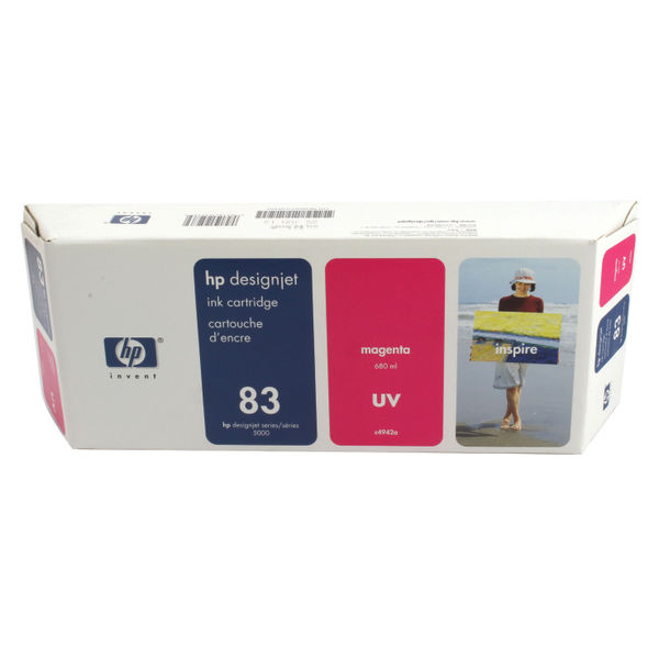 HP 83 UV Magenta Ink Cartridge | C4942A
