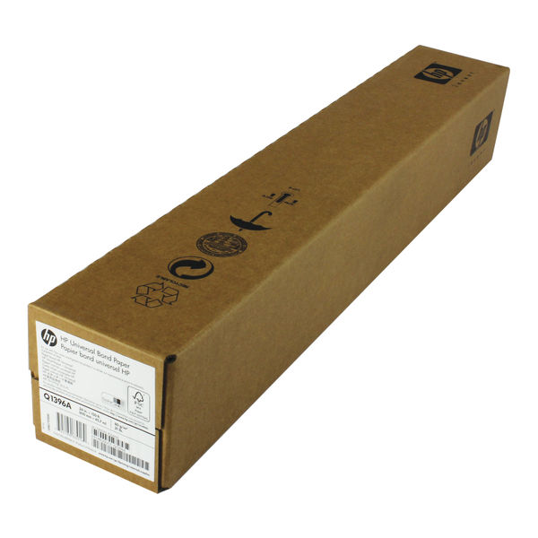 HP Large Format Media Coated Plotter Paper Roll 610mm x 45m 90gsm   C6019B