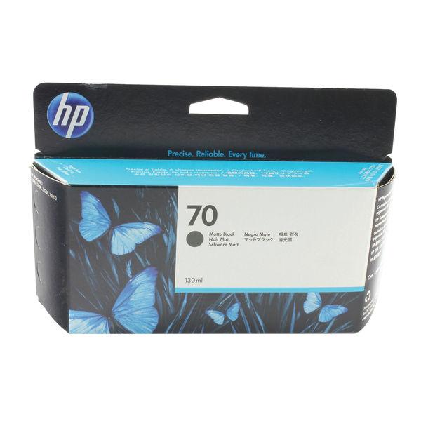 HP 70 Matte Black Inkjet Cartridge 130ml | C9448A