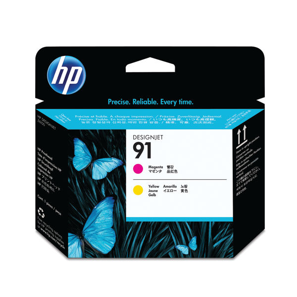 HP 91 Magenta and Yellow Printhead Cartridge | C9461A