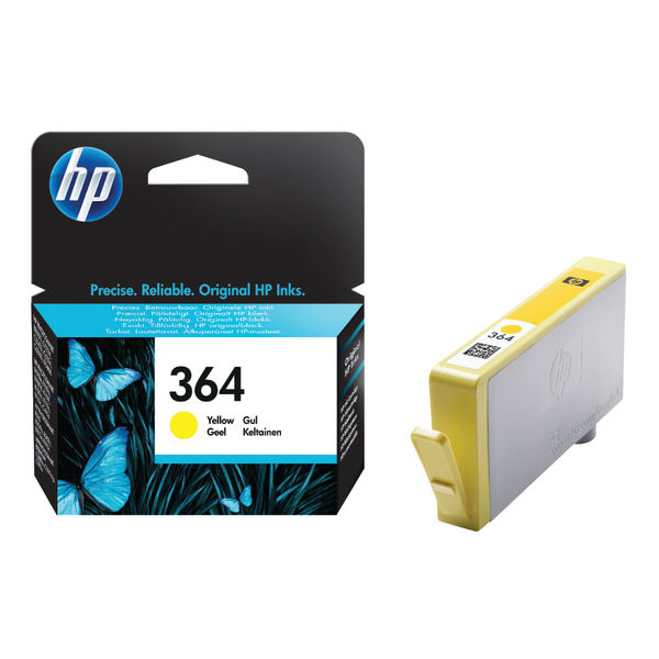 HP 364 Yellow Ink Cartridge | CB320EE