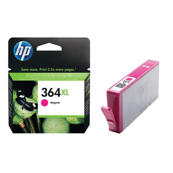 HP 364XL High Capacity Magenta Ink Cartridge | CB324EE