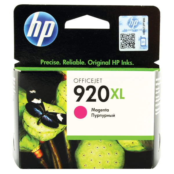 HP 920XL High Capacity Magenta Ink Cartridge | CD973AE