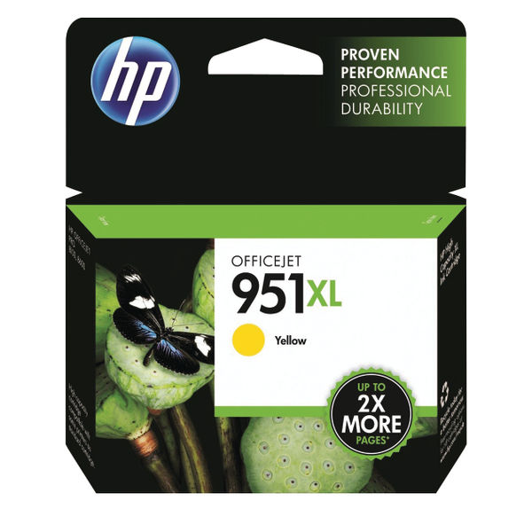 HP 951XL High Capacity Yellow Ink Cartridge | CN048AE