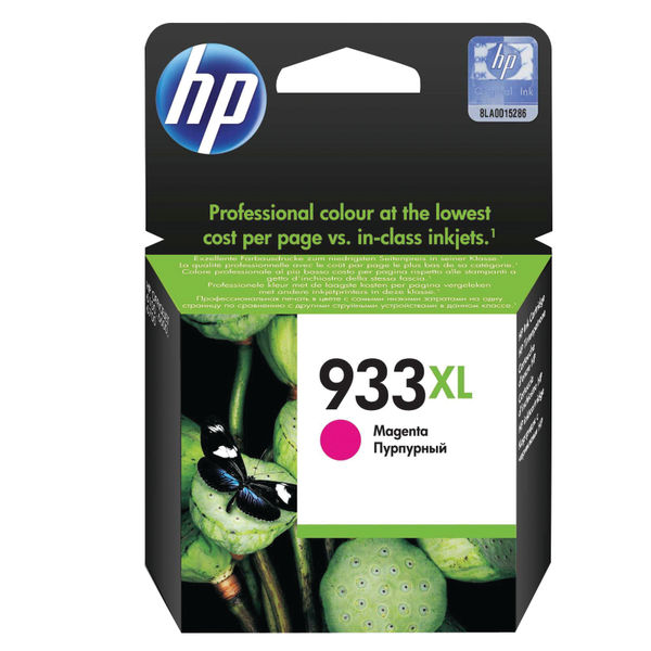 HP 933XL High Capacity Magenta Ink Cartridge | CN055AE