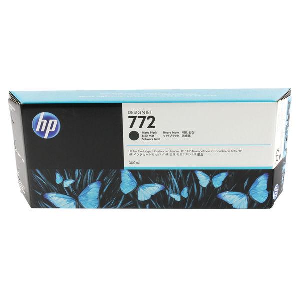 HP 772 Matte Black Ink Cartridge 300ml | CN635A