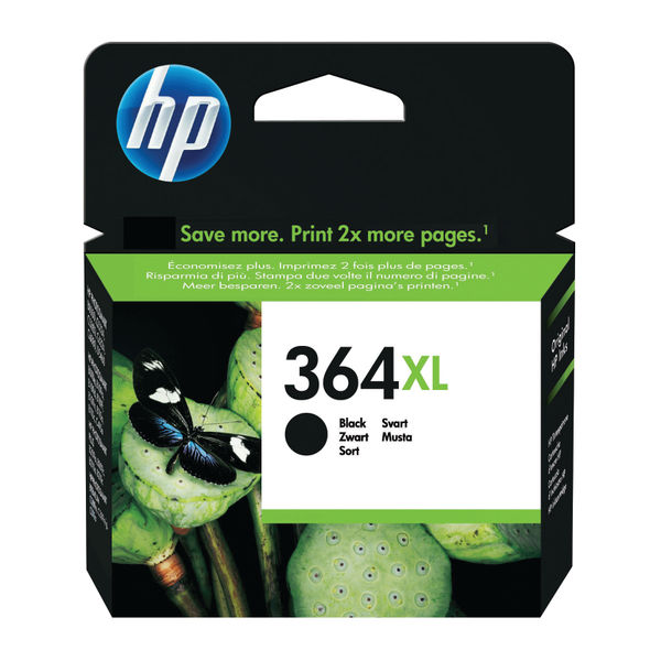 HP 364XL High Capacity Black Ink Cartridge | CN684EE