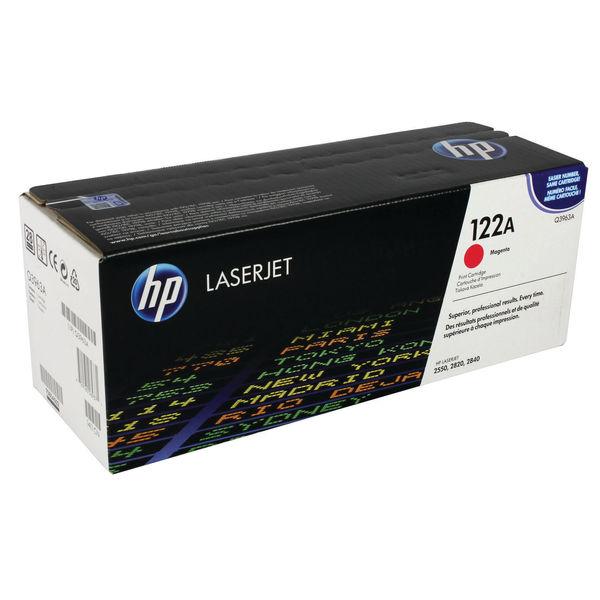 HP 122A Magenta Colour LaserJet Toner Cartridge   Q3963A