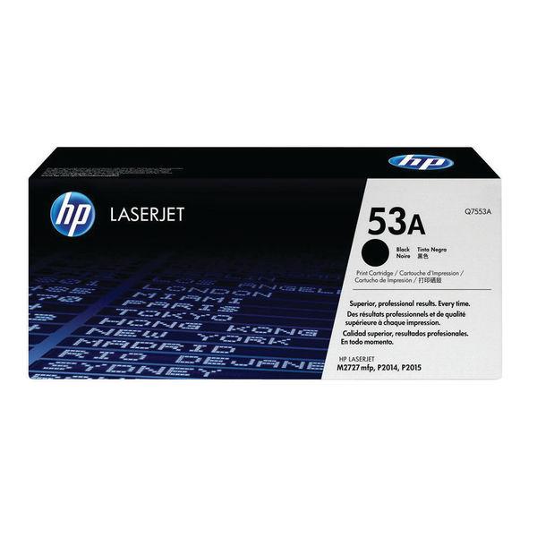 HP 53A Black Laserjet Toner Cartridge | Q7553A