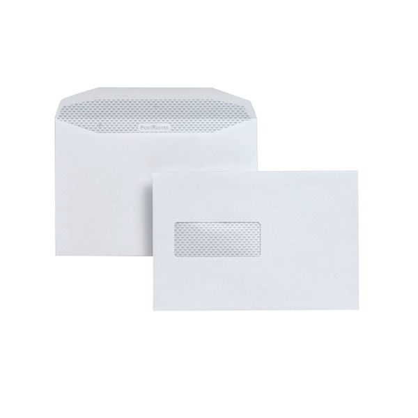 Postmaster Envelope Hi Window 162x 238mm [Pack 500] A29984