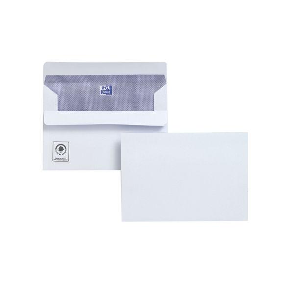 Plus Fabric Envelopes White C6 Pack of 500 Wallet Press Seal