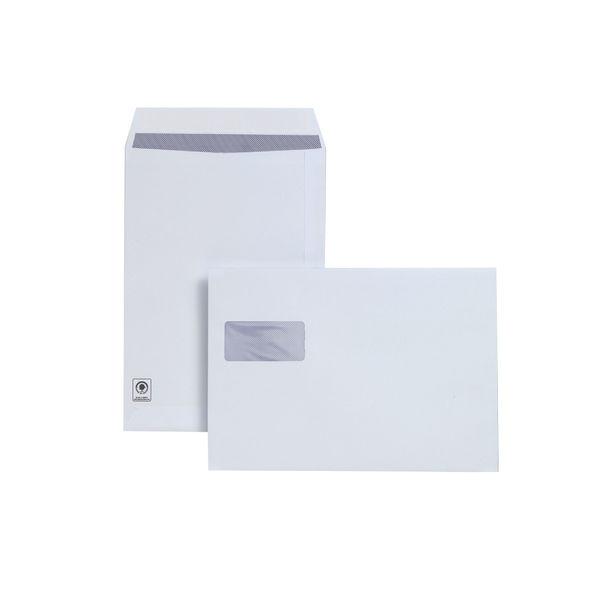 Plus Fabric C4 Window Envelopes Peel / Seal [250 Pack] F28749