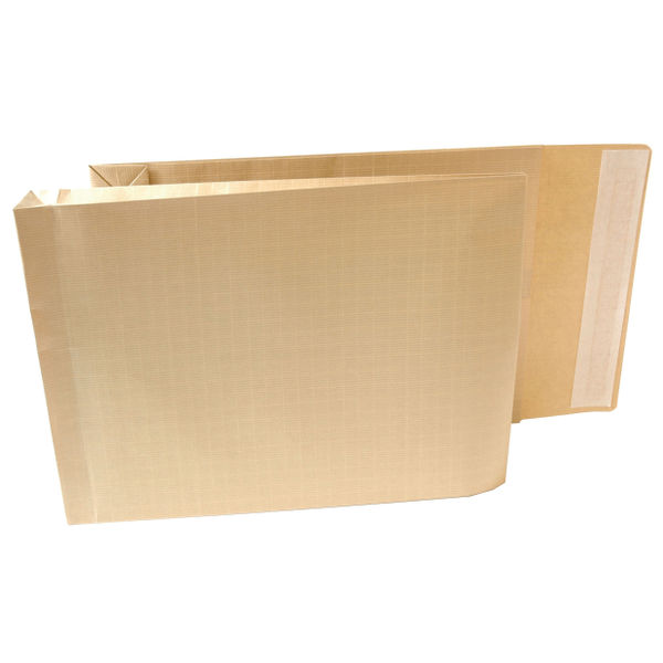 Armour Gusset Envelopes Peel 381x279x51mm Manilla 130gsm Pack Of 100 H28313