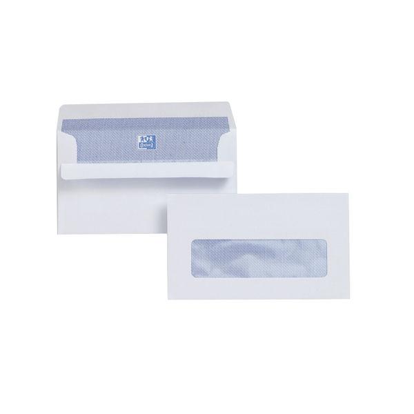 Plus Fabric Envelope Press Seal Window 89x152 [Pack 500] L22070