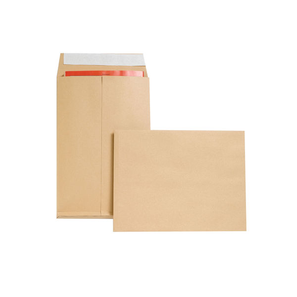 New Guardian Gusset Envelopes 350x248x25mm Manilla 100gsm Pack Of 100 JDM29066