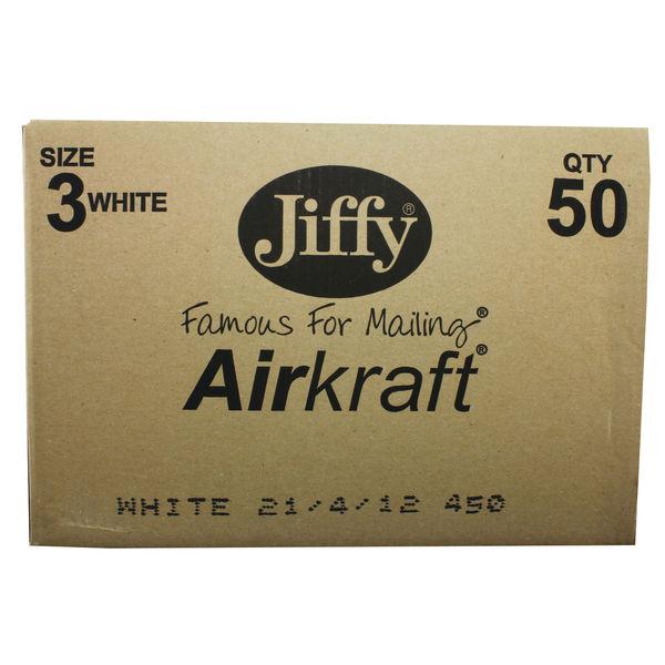 Jiffy Aircraft Postal Bags 220x320mm Pack of 50 JL-3