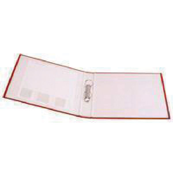 Q-Connect 2 Ring 25mm Paper Over Board Red A4 Binder, Pack of 10 | KF20036