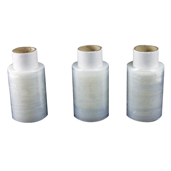 Marland Mini Stretch Wrap Refill Rolls Clear 100mm x 150M 10 Rolls | 97151015