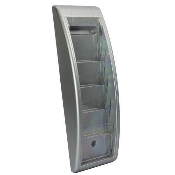 Fastpaper System Wall Display 5Xa5 Silver/ Aluminium MF23966