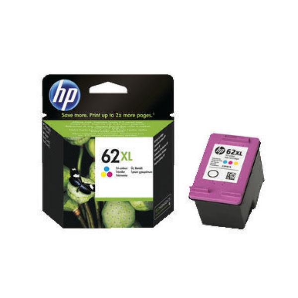HP 62XL High Capacity Tri-Colour Ink Cartridge | C2P07AE