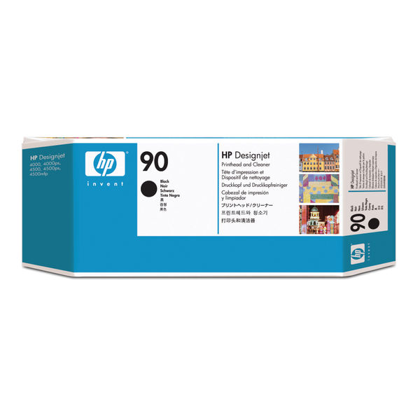HP 90 Black Inkjet Printhead and Cleaner | C5054A