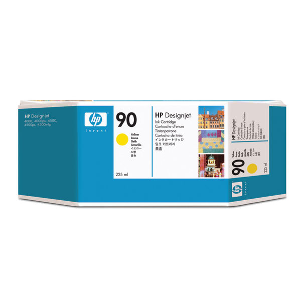 HP 90 Yellow Inkjet Cartridge 225ml | C5064A