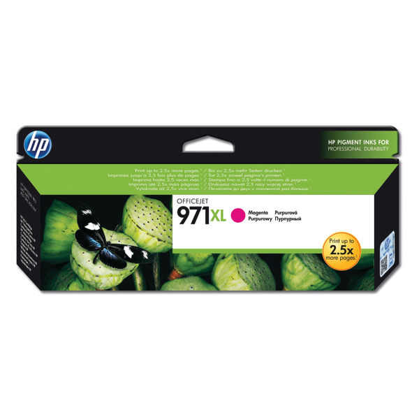 HP 971XL Magenta Ink Cartridge | High Capacity CN627AE
