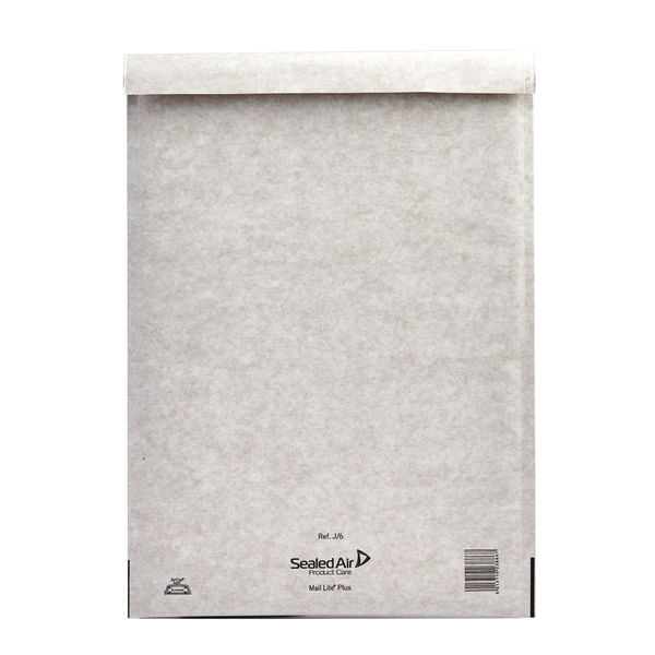 MailLite Plus Oyster Postal Bags 300x440mm Pack MLPJ/6